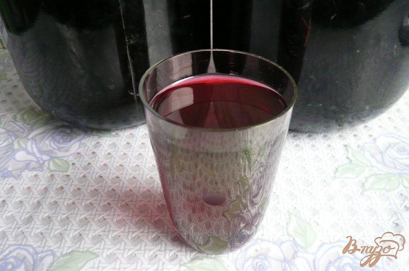 Фото приготовление рецепта: Простая настойка из черноплодной рябины шаг №4