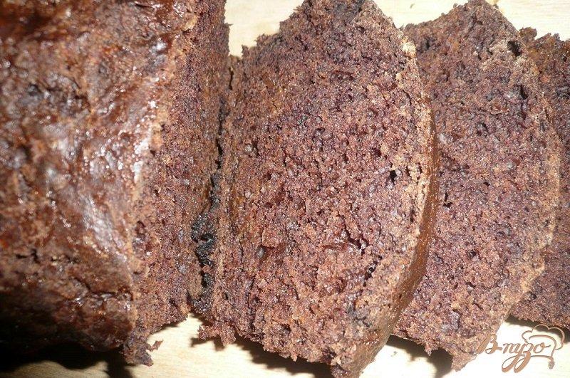 Фото приготовление рецепта: Шоколадный кекс с тыквой шаг №7