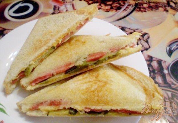 Рецепт Сэндвичи с соленым огурцом