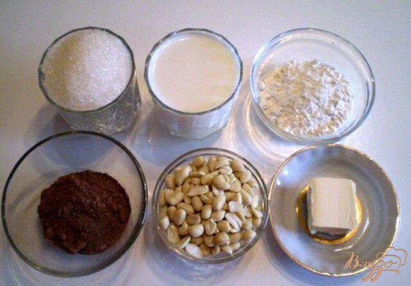 Фото приготовление рецепта: Шоколадный десерт
