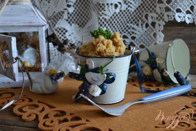 Рецепт Давленый картофель с гусиной печенью