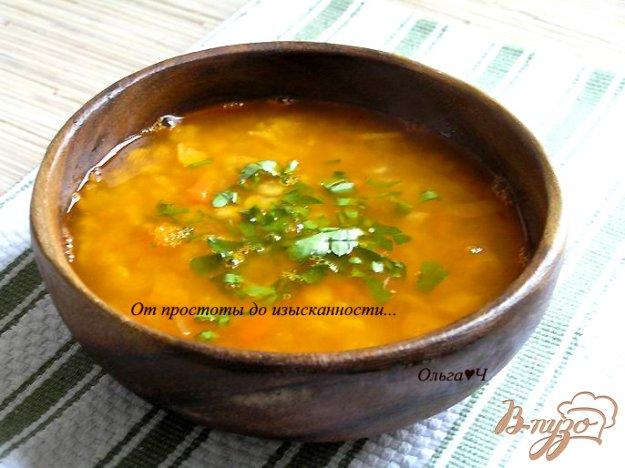 фото рецепта: Томатно-гороховый суп