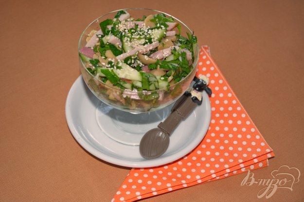 Рецепт Салат с вареным балыком