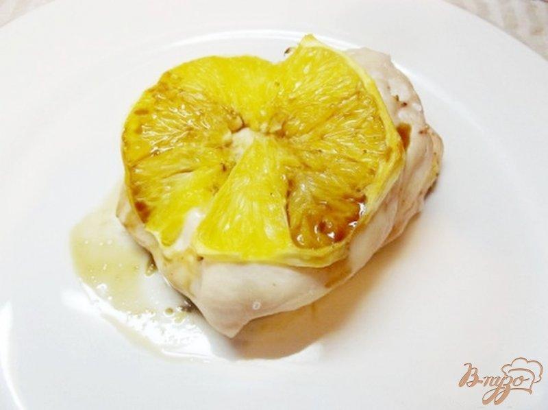 Фото приготовление рецепта: Куриная грудка запеченая с апельсином шаг №10