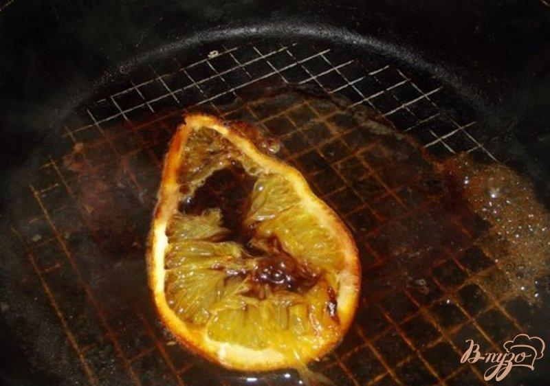 Фото приготовление рецепта: Куриная грудка запеченая с апельсином шаг №8