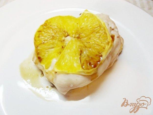 фото рецепта: Куриная грудка запеченая с апельсином