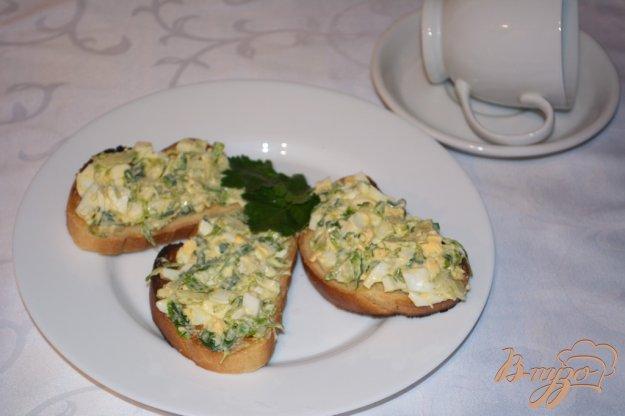 Рецепт Гренки с брюссельской капустой