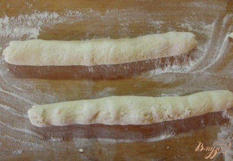 Фото приготовление рецепта: Ленивцы с яблочной заправкой шаг №5