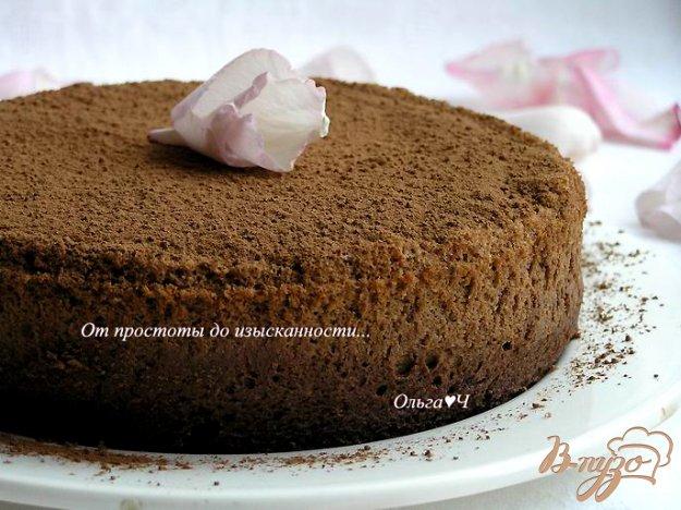 Рецепт Трюфельный торт