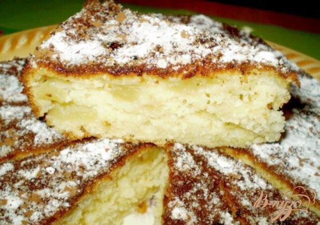 фото рецепта: Яблочный пирог на сливках