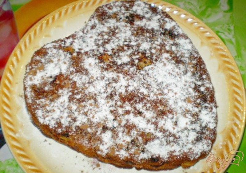 Фото приготовление рецепта: Яблочный пирог на сливках шаг №7