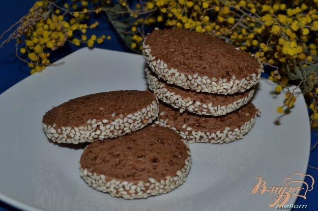 Рецепт Шоколадно-кофейное печенье