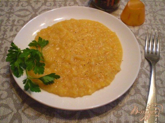 Рецепт Гороховое пюре со смальцем и луком
