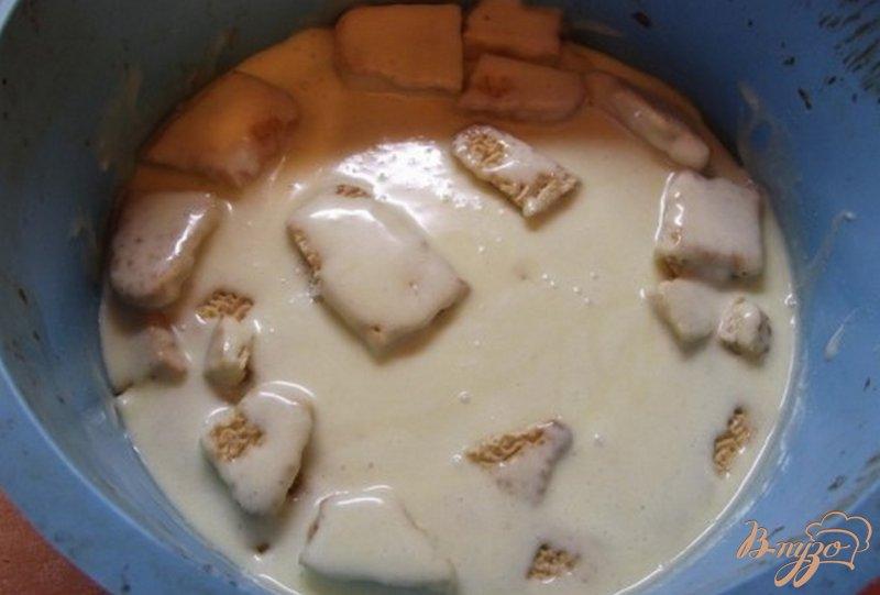 Фото приготовление рецепта: Яблочно-творожный пирог шаг №4