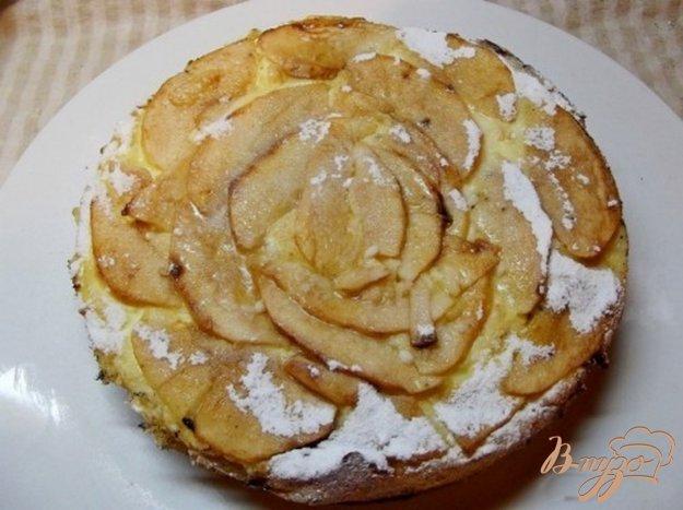 фото рецепта: Яблочно-творожный пирог