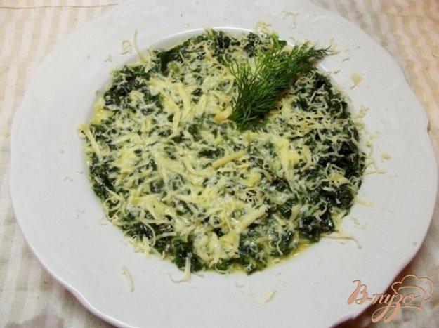 Рецепт Шпинат тушеный в молоке