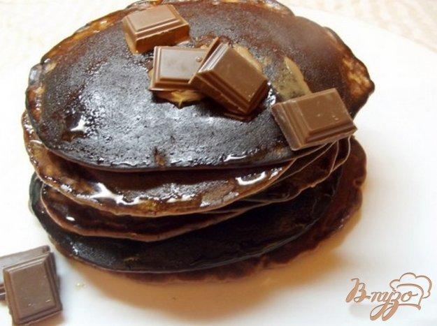 фото рецепта: Шоколадные оладушки