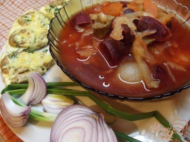 фото рецепта: Борщ из печеных овощей