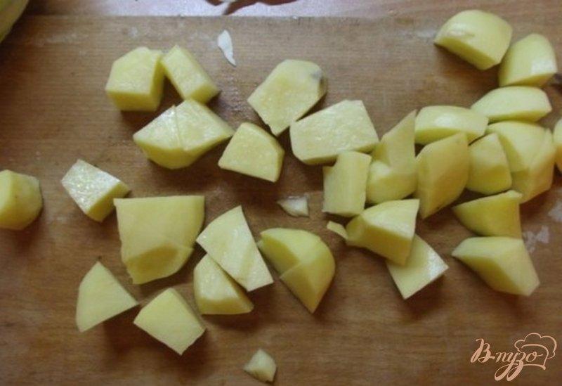Фото приготовление рецепта: Борщ из печеных овощей шаг №2