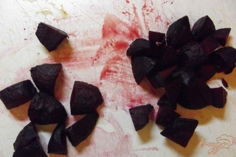 Фото приготовление рецепта: Борщ из печеных овощей шаг №6