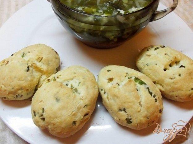Рецепт Булочки с зеленью к супу