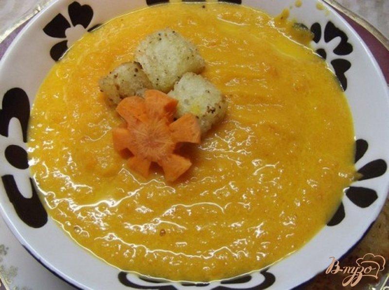 Фото приготовление рецепта: Морковный суп-пюре шаг №6