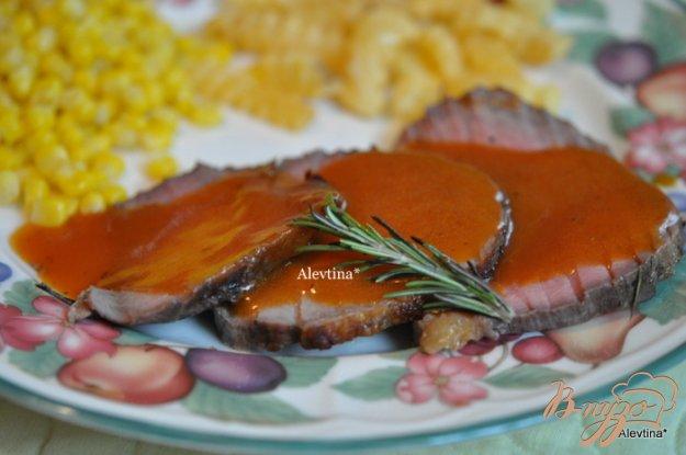 Рецепт Говядина с красным соусом