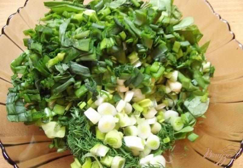 Фото приготовление рецепта: Суп весенний из зелени шаг №4