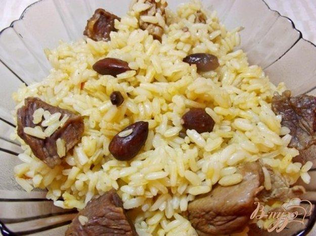 Рецепт Плов с миндалем