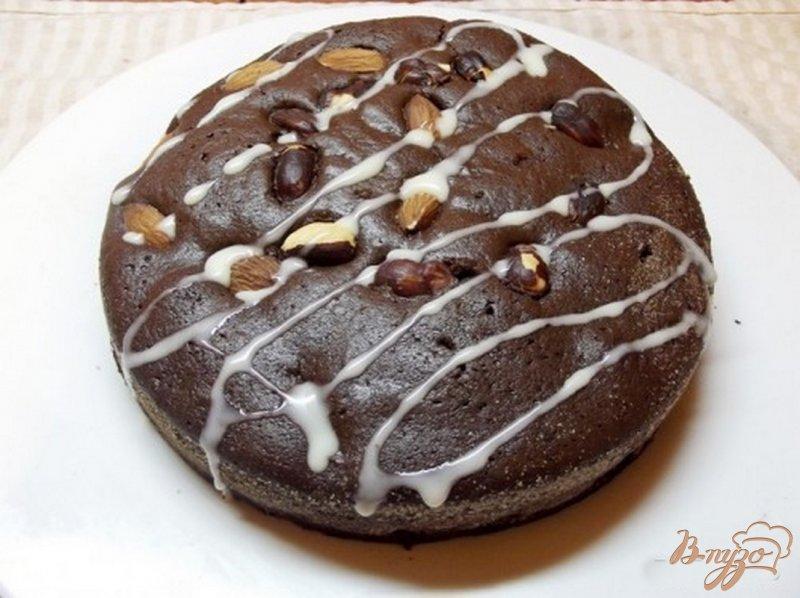 Шоколадный пирог без молока рецепт с