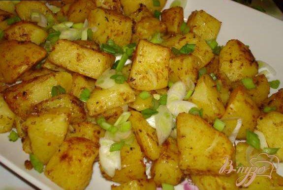 Фото приготовление рецепта: Рождественский картофель от Гордона Рамзи шаг №4