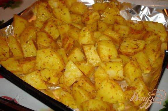 Фото приготовление рецепта: Рождественский картофель от Гордона Рамзи шаг №3