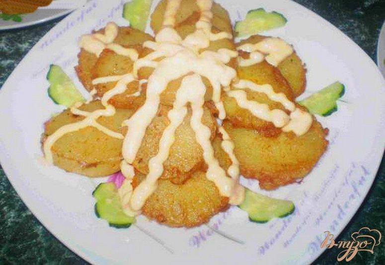 Фото приготовление рецепта: Картофель под морковным соусом шаг №7