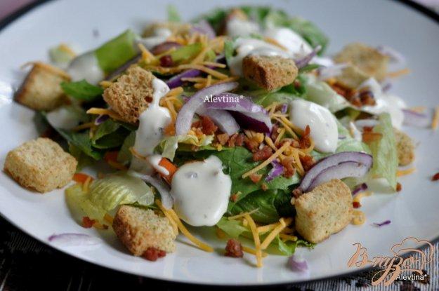 Рецепт Домашний салат с беконом