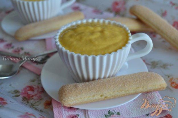 Рецепт Десертный крем из манго с маскарпоне