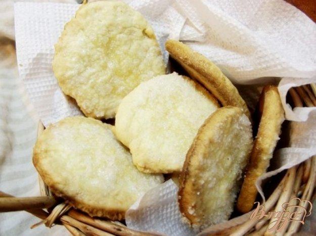 Рецепт Печенье к чаю с сахарной пудрой