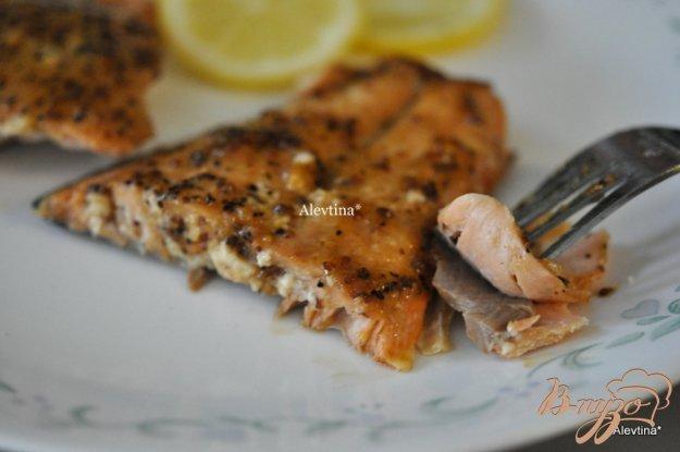 Рецепт Пряная семга в духовке