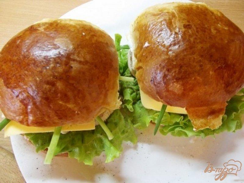 Фото приготовление рецепта: Весенние бургеры шаг №12