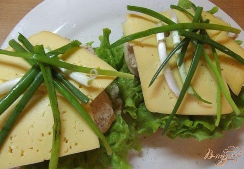 Фото приготовление рецепта: Весенние бургеры шаг №11