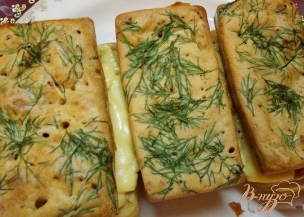Рецепт Закусочные мини с зеленью и кунжутом