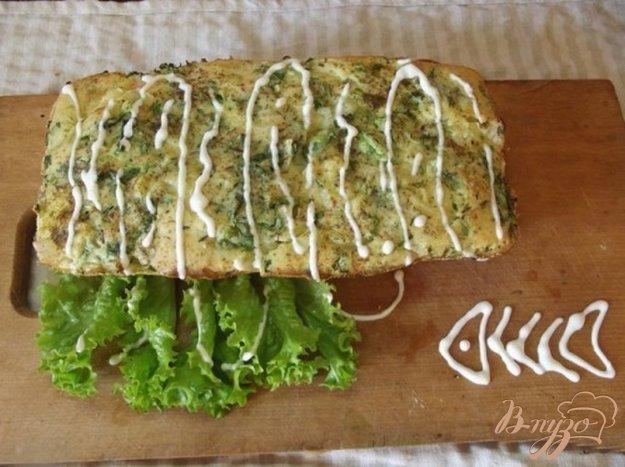 Рецепт Слоеный пирог с рыбой