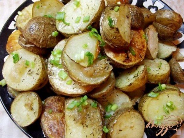 Рецепт Картофель запеченный в кожуре