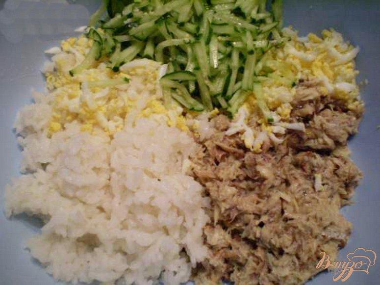 Салат с консервой рыбной рецепт пошагово в