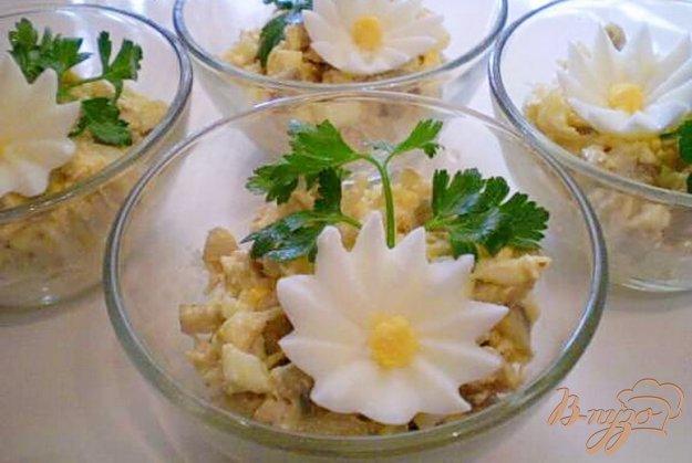 Рецепт Салат куриный с грибами