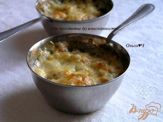 фото рецепта: Жюльен с курицей и грибами