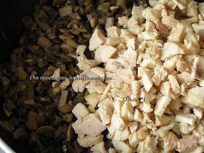 Фото приготовление рецепта: Жюльен с курицей и грибами шаг №1