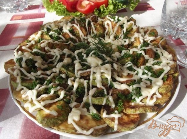Рецепт Кабачки праздничные