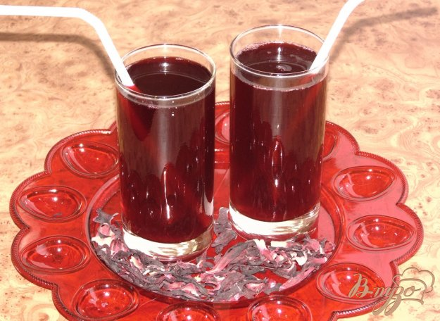 фото рецепта: Рубиновый напиток