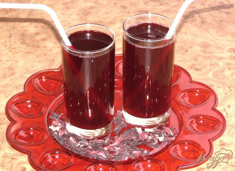 Фото приготовление рецепта: Рубиновый напиток шаг №5