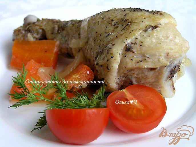 Фото приготовление рецепта: Курица в соусе Эстрагон (в мультиварке) шаг №6